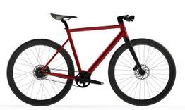Desiknio Pinion Electric Bike      URBAN GRANADA ROT mit Carbongabel