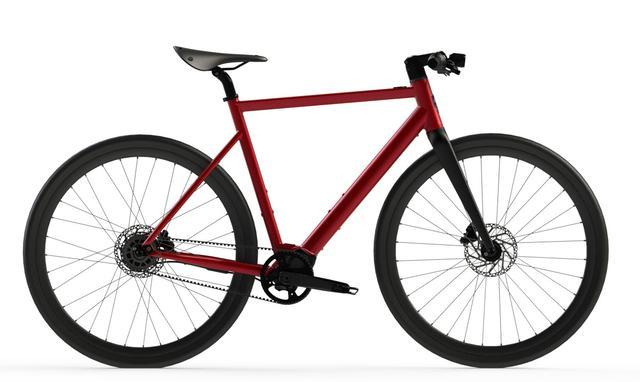 Desiknio Pinion Electric Bike - URBAN GRANADA ROT mit Carbongabel