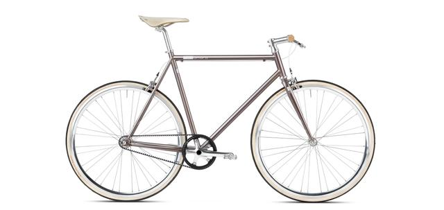 mika amaro custom grey - singlespeed Limited Edition - Single Speed Urban Bike
