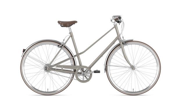 Gazelle Urban-Bike - Van Stael - 7-Gang Damenrad Größe 59, warm grey, erwartet im Juni 2021