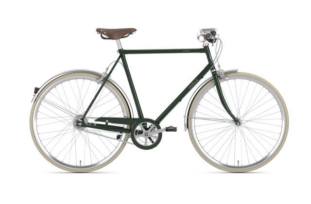Gazelle Urban-Bike - Van Stael - 7-Gang Herrenrad Größe 64, Farbe: hunter green, sofort verfügbar!