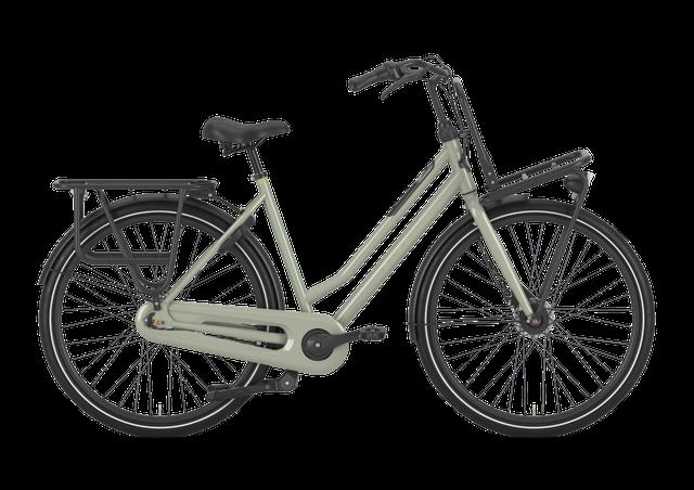 Gazelle Heavy Duty NL Urban Bike - 7-Gang Freilauf Größe L (59), green, sofort verfügbar
