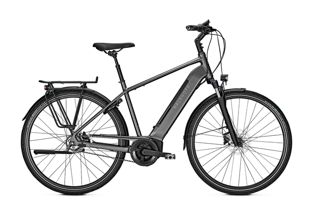 Kalkhoff Elektrofahrrad - Citybike Image - 3.B EXCITE Gates-Riemenantrieb Diamantrahmen
