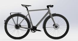Desiknio Pinion Electric Bike      URBAN größe M, moondust silver, carbongabel, sofort lieferbar!