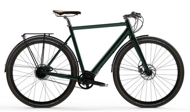 Desiknio Pinion Electric Bike - CLASSIC 9-Gang-Pinion, Größe M, forest green, sofort lieferbar
