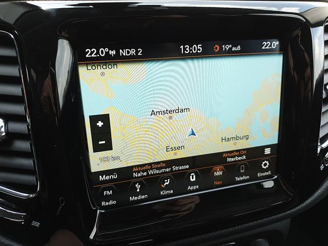 Jeep Compass 1.4 170PS 4x4 Automatik Limited Voll-Leder Klimaautomatik Rückf.Kamera Navi PDC v+h Keyless starten+öffnen