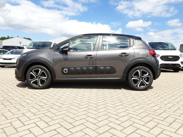 Gebrauchtfahrzeug Citroën C3 - 1.2 83PS Shine AirBump 5-Türig Klimaautomatik Navi PDC Temp. Nebelsch.