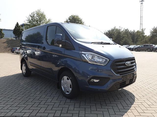 Ford Transit Custom L1 2.0 TDCi 105PS Trend 2,8t 3-Sitzer Klima PDC v+h Navi Frontscheibe beheizb. Anhängerkupplung