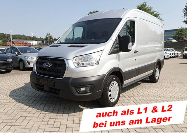 Ford Transit - 350 L2H2 2.0TDCi 130PS Trend 3,5t 3-Sitzer Klima Navi AHK PDC v h - Lagerfahrzeug