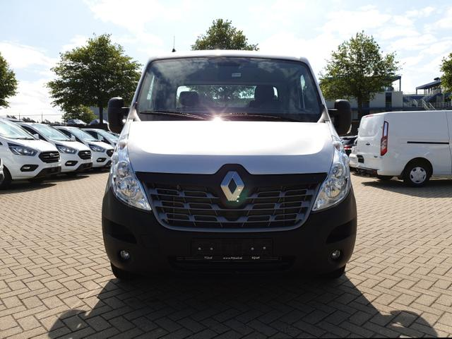 Renault Master L4 Autotransporter 2.3 dCi 163PS 3,5t AluLiner Klimaautomatik SHZG Navi AHK Luftfederung Zwillings-Hinterachse 4-fach Bereifung Tijhof Alu-Aufbau