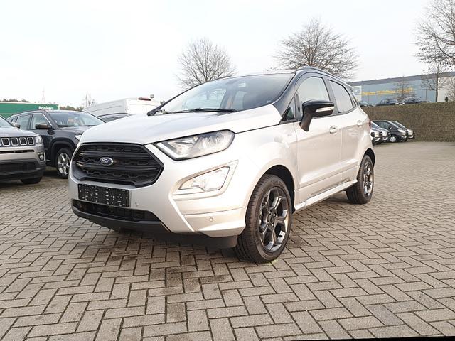 Ford EcoSport - 1.0 125PS EcoBoost ST-Line Klimaautomatik Winterpaket Navi AHK PDC v+h Rückf.Kamera B+O Sound abg.Scheiben