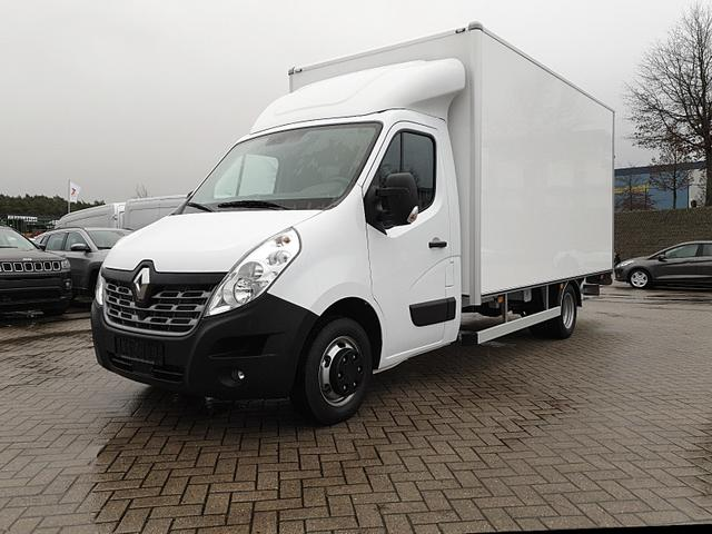 Renault Master - Kofferaufbau 2.3 dCi 163PS L4H1 4,5t 3-Sitzer Klimaautomatik Navi Sitzheizung Fahrtenschreiber
