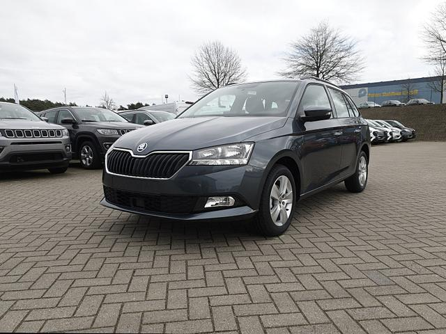 Skoda Fabia - Combi 1.0 TSI 95PS Ambition Klima Sitzheizung PDC Dachreling Nebelsch. 15LM Front-Assist