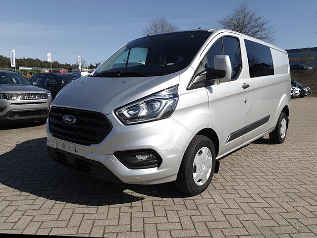 Ford Transit Custom - Doppelkabine L2 2.0 TDCi 130PS Trend 3,0t 5-Sitzer Klima PDC v+h Navi Rückf.Kamera Anhängerkupplung Sitzheizung Frontscheibe beheizb.
