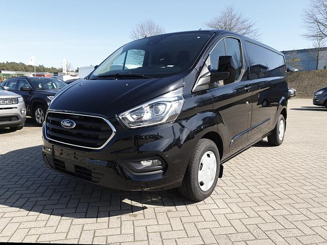 Ford Transit Custom L2 2.0TDCi 130PS Automatik Trend 3,0t 3-Sitzer Klima Navi AHK PDC v+h Rückf.Kamera Sitzheizung Frontscheibe beheizb.