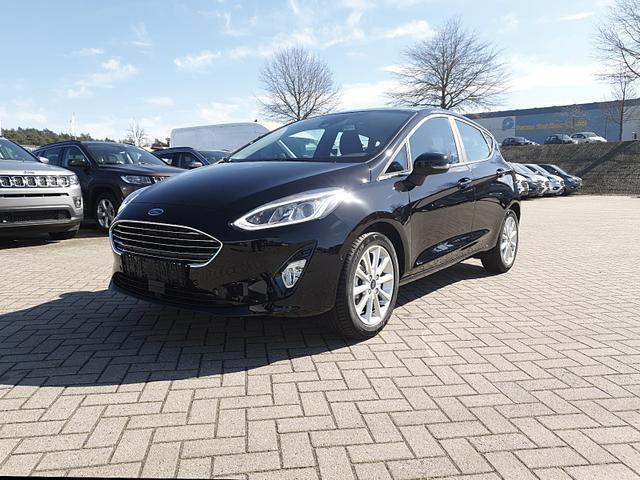 Ford Fiesta 1.0 100PS Ecoboost Automatik Titanium 5-Türig Klimaautomatik Tempomat mit ACC Navi Rückf.Kamera PDC v+h