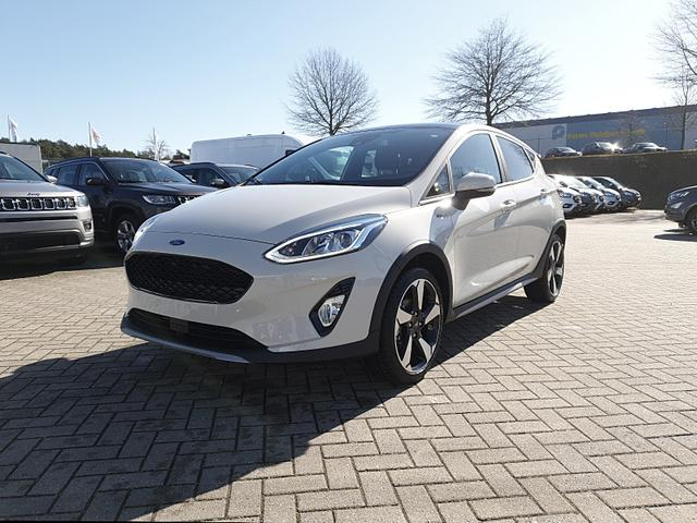 Ford Fiesta - Active 1.0 EcoBoost 100PS Sitzheizung Panorama(elektrisch)Schiebedach Klimaautomatik Lenkradheizung Frontscheibe beheizb. Keyless Tempomat mit ACC Navi PDC B+O-Sound