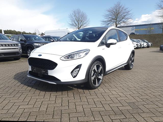 Ford Fiesta - Active 1.0 EcoBoost 100PS Automatik Sitzheizung Klimaautomatik elekt. Panorama-Schiebedach Lenkradheizung Frontscheibe beheizb. Tempomat mit ACC Navi PDC