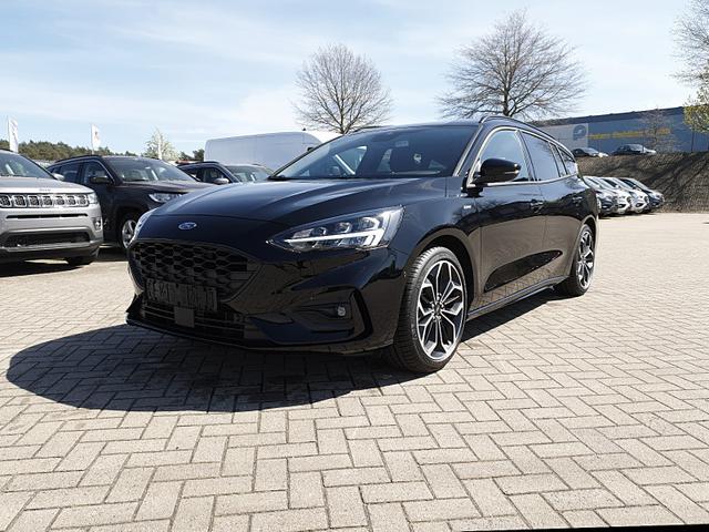 Ford Focus - Turnier 1.0 EcoBoost 125PS ST-Line Voll-LED Rückf.Kamera Klimaautomatik Navi Sitzheizung Lenkradheizung Frontscheibe beheizb. 18LM