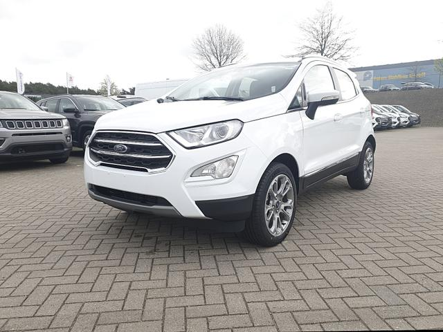 Ford EcoSport - 1.0 125PS EcoBoost Titanium Klimaautomatik Apple CarPlay Android Auto Navi Sitzheizung Lenkradheizung Frontscheibe beheizbar PDC