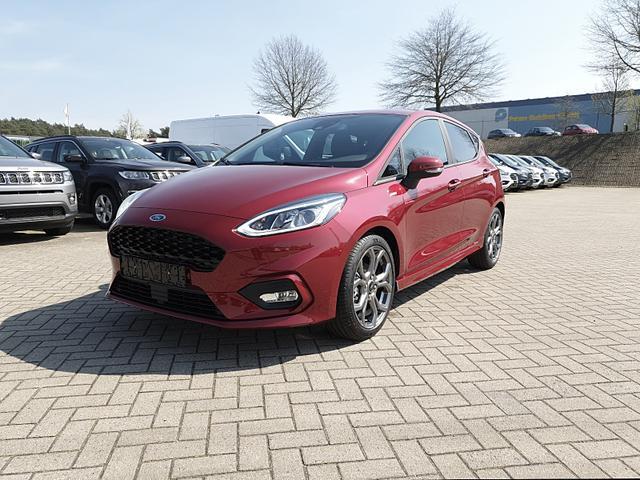 Ford Fiesta - 1.0 95PS EcoBoost ST-Line 5-türig Klimaautomatik Sitzheizung Lenkradheizung Frontscheibe beheizb. Navi PDC Tempomat 17-LM
