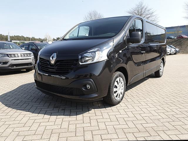 Renault Trafic L2H1 2.0 dCi 125PS Komfort 3,0t 3-Sitzer Klima Navi Anhängerkupplung PDC Nebelsch. Allwetterreifen