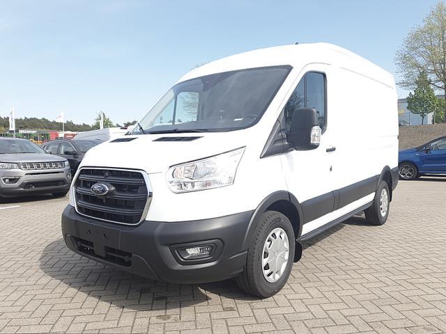 Ford Transit Custom - 350 L2H2 2.0TDCi 108PS Trend 3,5t 3-Sitzer Klima PDC v h Navi Rückf.Kamera Anhängerkupplung Frontscheibe beheizb. Vorlauffahrzeug