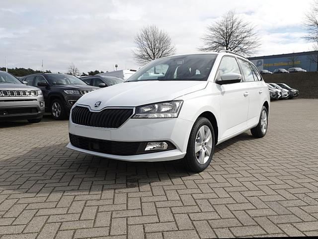 Skoda Fabia Combi 1.0 TSI 95PS Ambition Klima Sitzheizung PDC Dachreling Nebelsch. 15LM Front-Assist