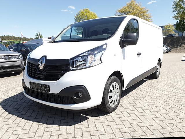 Renault Trafic - L2H1 2.0 dCi 125PS Komfort 3,0t 3-Sitzer Klima Navi Anhängerkupplung PDC Nebelsch. Allwetterreifen