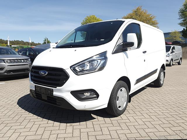 Ford Transit Custom - L1 2.0 TDCi 108PS Trend 2,8t 3-Sitzer Klima Ford-Navi SYNC 3 DAB+ Bluetooth 8''-Touchscreen Apple Carplay Android Auto Anhängerkupplung Frontscheibe beheizb. PDC v+h