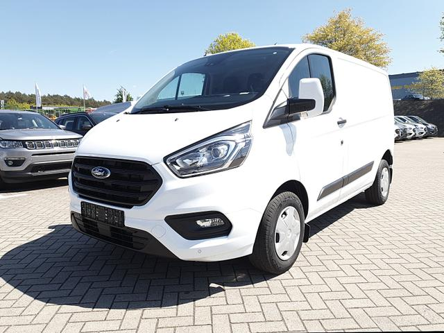 Ford Transit Custom - L1 2.0 TDCi 108PS Trend 2,8t 3-Sitzer Klima Frontscheibe beheizb. Ford-Navi SYNC 3 DAB+ Bluetooth 8''-Touchscreen Apple Carplay Android Auto Dachträger PDC v+h Anhängerkupplung