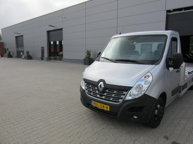 Renault Master Kastenwagen - L4 Autotransporter 2.3 dCi 163PS 3,5t AluLiner Klimaautomatik SHZG Navi AHK Luftfederung Zwillings-Hinterachse 4-fach Bereifung Tijhof Alu-Aufbau