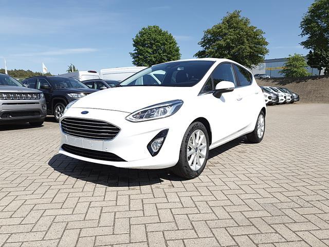 Ford Fiesta - 1.0 100PS EcoBoost Titanium 5-türig Klimaautomatik Lenkradheizung Frontscheibe beheizb. Sitzheizung Navi PDC v+h Rückf.Kamera abged.Scheiben