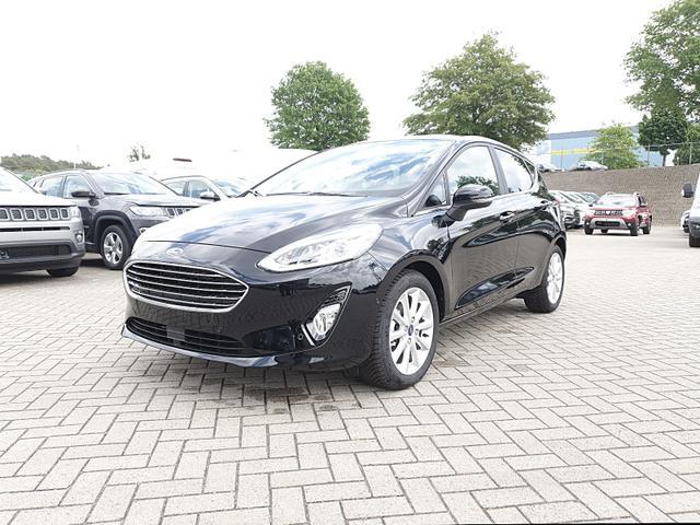 Ford Fiesta - 1.0 100PS EcoBoost Titanium 5-türig Klimaautomatik Sitzheizung ACC Lenkradheizung Frontscheibe beheizb. Navi PDC v+h Tempomat Rückf.Kamera B+O-Sound