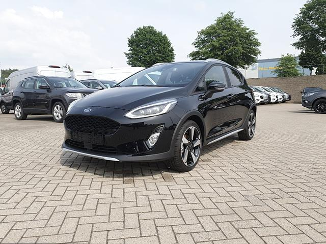 Ford Fiesta - Active 1.0 EcoBoost 100PS Lenkradheizung Sitzheizung beheizb.Frontscheibe Klimaautomatik Tempomat mit ACC Navi PDC Voll-LED Lagerfahrzeug