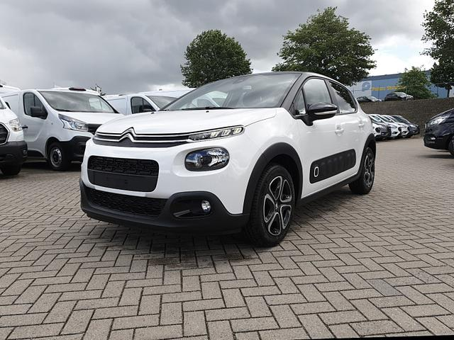 Gebrauchtfahrzeug Citroën C3 - 1.2 83PS Shine AirBump 5-Türig Klimaautomatik Navi Einparkhilfe hinten Apple CarPlay Android Auto abgedunkelte Scheiben Tempomat 16''-3D-Designkappen
