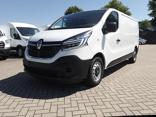 Renault Trafic Kastenwagen - L2H1 2.0 dCi 120PS Komfort 3,0t 2-Sitzer Klima Anhängerkupplung Voll-LED Navi Bluetooth Parksensoren Tempomat Ganzjahresreifen Vorlauffahrzeug