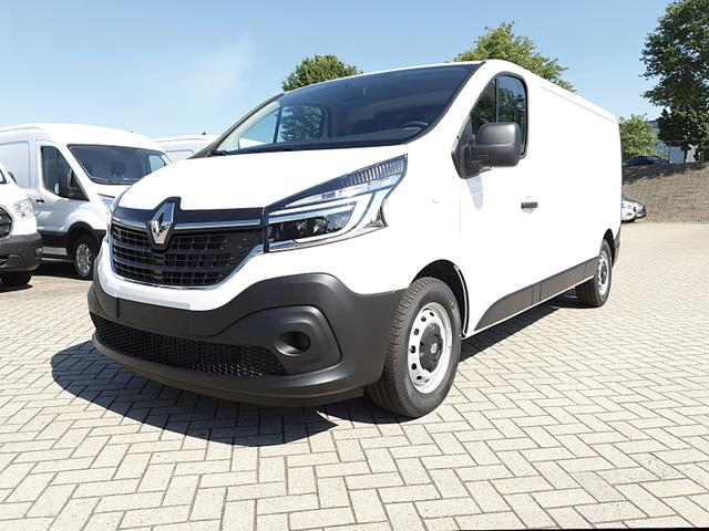 Renault Trafic Kastenwagen - L2H1 2.0 dCi 145PS Komfort 3,0t 3-Sitzer Klima Voll-LED Bluetooth Parksensoren Tempomat ZV-Fernb. 2 EFH elekt. beheizb. Außenspiegel 2x Flügeltüren Trennwand Vorlauffahrzeug