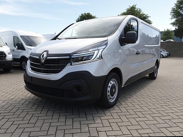 Renault Trafic Kastenwagen - L2H1 2.0 dCi 120PS Komfort 3,0t 3-Sitzer Klima Voll-LED Anhängerkupplung Bluetooth Parksensoren Tempomat ZV-Fernb. 2 elekt.Fensterh. elekt. beheizb. Außenspiegel 2x Flügeltüren Trennwand Vorlauffahrzeug