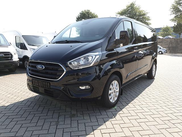 Ford Transit Custom - L2 2.0TDCi 130PS Automatik Trend 3,0t 3-Sitzer Klima Sitzheizung AHK Rückf.Kamera Ford-Navi SYNC 3 DAB+ Bluetooth 8''-Touchscreen Apple Carplay Android Auto PDC v+h Frontscheibe beheizb.