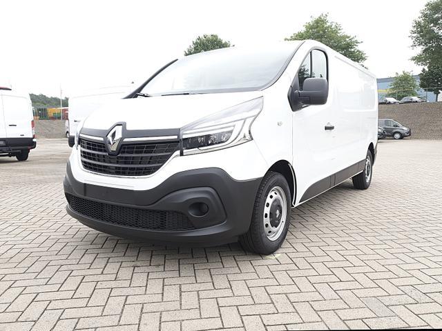 Renault Trafic Kastenwagen - L2H1 2.0 dCi 120PS Komfort 3,0t 3-Sitzer Klima Navi Bluetooth Voll-LED Parksensoren Tempomat ZV-Fernb. 2 elekt.Fensterh. elekt. beheizb. Außenspiegel 2x Flügeltüren Trennwand
