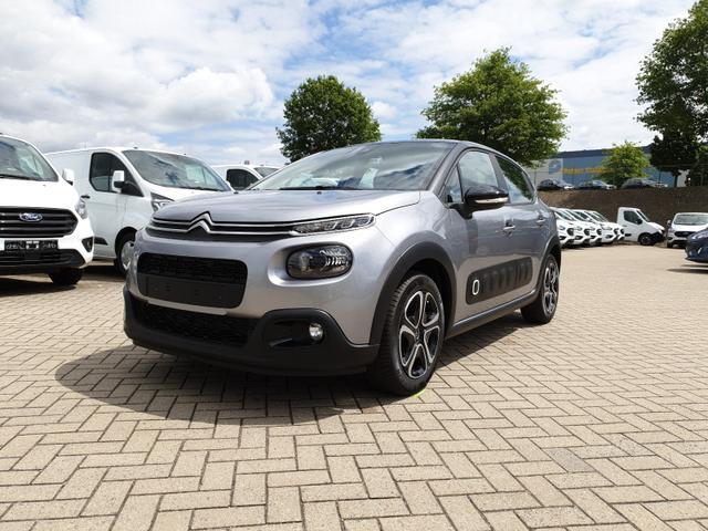 Citroën C3 - 1.2 83PS Shine AirBump 5-Türig Klimaautomatik Navi Einparkhilfe hinten Apple CarPlay Android Auto abgedunkelte Scheiben Tempomat 16''-3D-Designkappen
