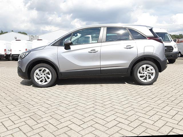 Opel Crossland X - 1.2 130PS Automatik Edition Klimaautomatik Sitzheizung Lenkradheizung DAB+ PDC v+h Rückf.Kamera Tempomat R4.0 IntelliLink Apple CarPlay Android Auto