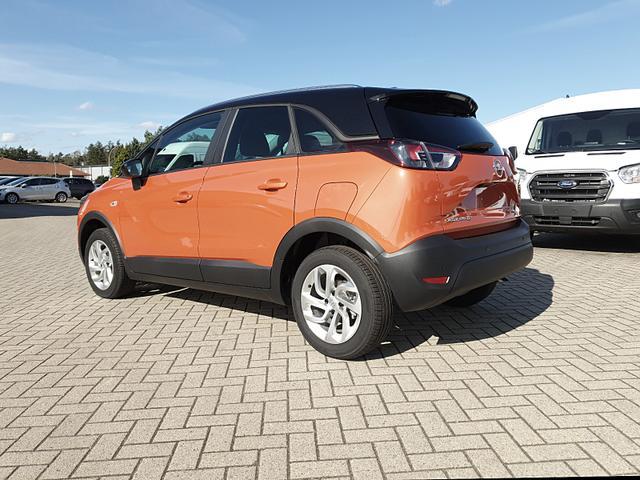 Opel Crossland X 1.2 130PS Automatik Edition Klima Klimaautomatik Sitzheizung Lenkradheizung DAB+ PDC v+h Rückf.Kamera Tempomat R4.0 IntelliLink Apple CarPlay Android Auto