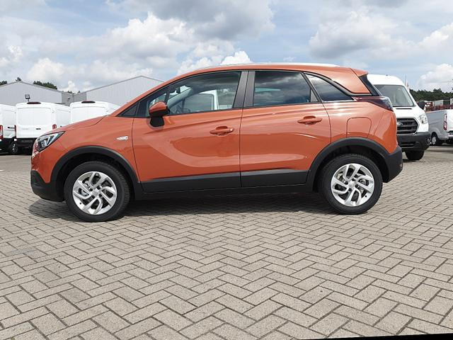 Opel Crossland X - 1.2 130PS Automatik Edition Klima Klimaautomatik Sitzheizung Lenkradheizung DAB+ PDC v+h Rückf.Kamera Tempomat R4.0 IntelliLink Apple CarPlay Android Auto
