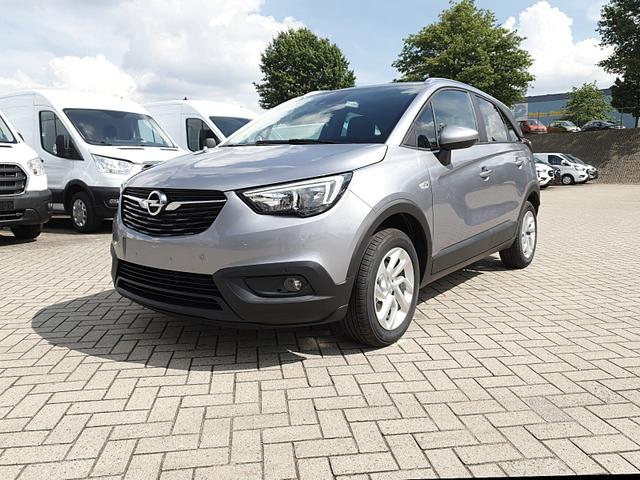 Opel Crossland X - 1.2 130PS Automatik Edition Klimaautomatik Sitzheizung Lenkradheizung DAB  PDC v h Rückf.Kamera Tempomat R4.0 IntelliLink Apple CarPlay Android Auto Vorlauffahrzeug kurzfristig verfügbar