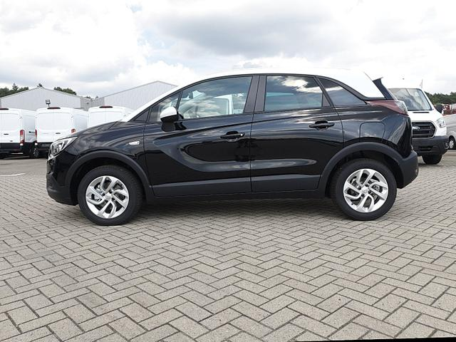 Lagerfahrzeug Opel Crossland X - 1.2 130PS Automatik Edition Klimaautomatik Sitzheizung Lenkradheizung DAB  PDC v h Rückf.Kamera Tempomat R4.0 IntelliLink Apple CarPlay Android Auto