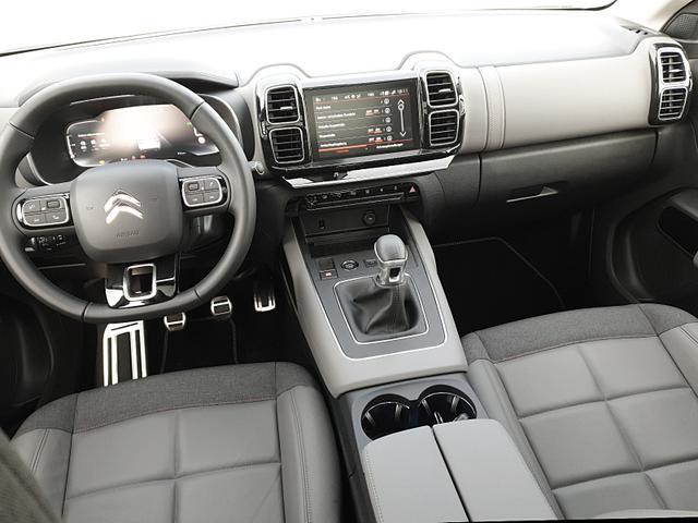 C5 1.2 130PS AirCross Shine Voll-LED Teil-Led Teil-Leder elekt. PanoramaDach 19-LM Klimaautomatik Citroen-Navi mit Bluetooth DAB+ Apple CarPlay Android Auto PDC v+h Rückf.Kamera Frontkamera Heckklappe 2