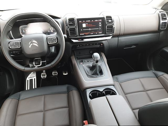 C5 1.2 130PS AirCross Shine Voll-LED Ledersit Klimaautomatik 19-LM Citroen-Navi mit Bluetooth DAB+ Apple CarPlay Android Auto 2x Keyless Voll-LEDER Sitzheizung Massagesitze PDC v+h Rückf.Kamera