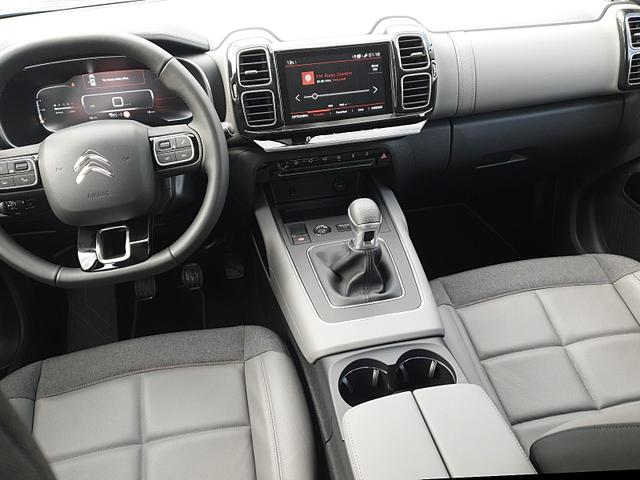 C5 1.2 130PS AirCross Business Plus Voll-LED elekt. PanoramaDach 19''LM Klimaautomatik Citroen-Navi mit Bluetooth DAB+ Apple CarPlay Android Auto PDC v+h Rückf.Kamera